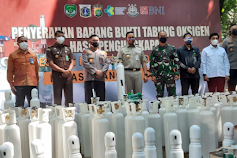 Selama Pandemi, Polda Metro Jaya Ringkus Oknum Pelaku Importasi Tabung Oksigen