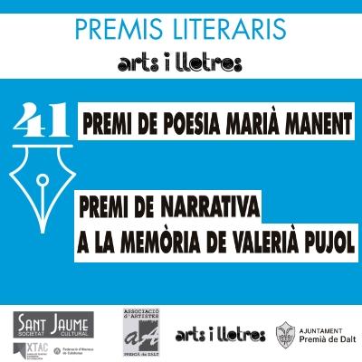 Premis Literaris Arts i Lletres 2017