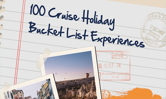 The Ultimate Cruise Holiday Bucket List #infographic