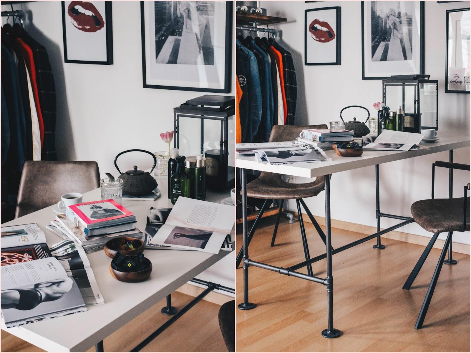 Various Design - Unser Tischgestell aus industriellem Stahlrohr ...