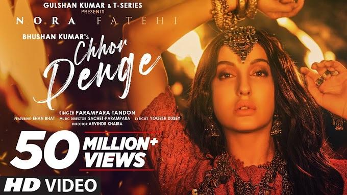 Chhod Denge ft Nora Fatehi Song Lyrics in Hindi with English Translation