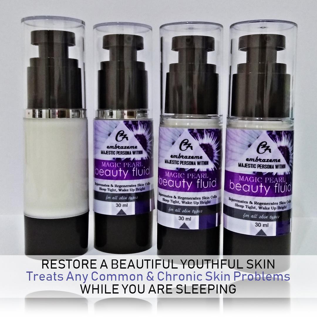 Embrazeme Magic Pearl Beauty Fluid Best Homemade Night Treatment Zam Gold Skin For Serum Buy 30 Ml On Shopee