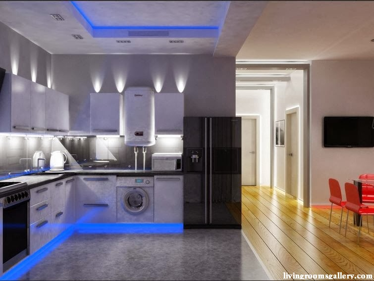 25 Pop False Ceiling Designs with LED Ceiling Lighting Ideas ...