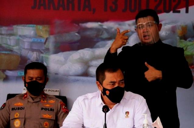 Polri Musnahkan 3,6 Ton Sabu Timur Tengah dan Malaysia, Sitaan Satgas Merah Putih