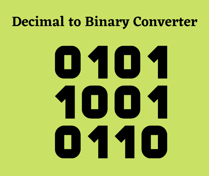 Decimal to Binary Converter