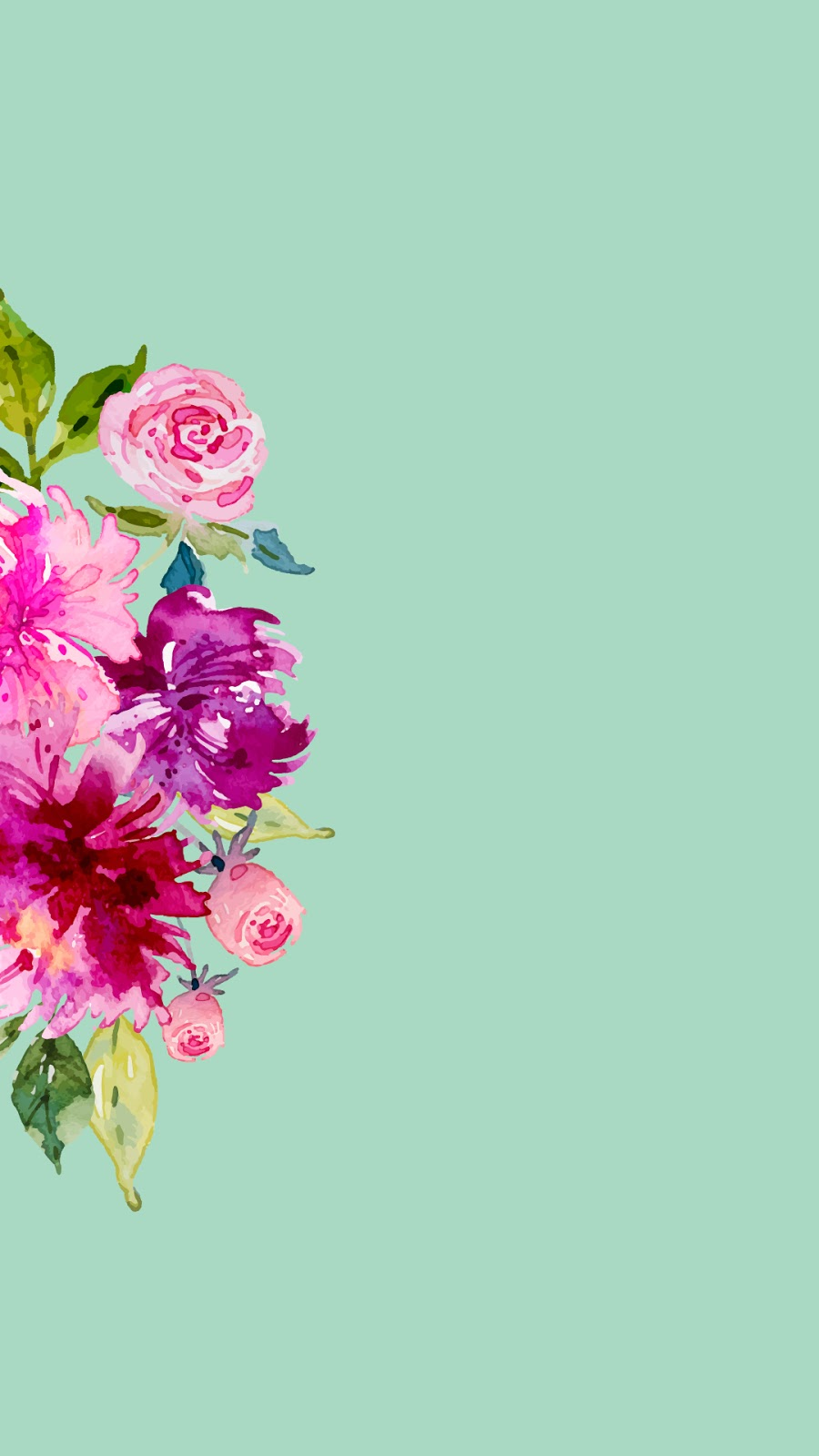 Pastel Flower Wallpaper Iphone Rolif
