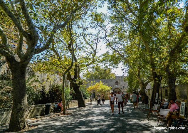 Cidadela dos Cruzados em Rodes, Grécia