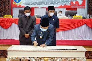 Gubernur Jambi Hadiri Rapat Penandatangan Kesepakatan Terhadap KUPA PPAS.