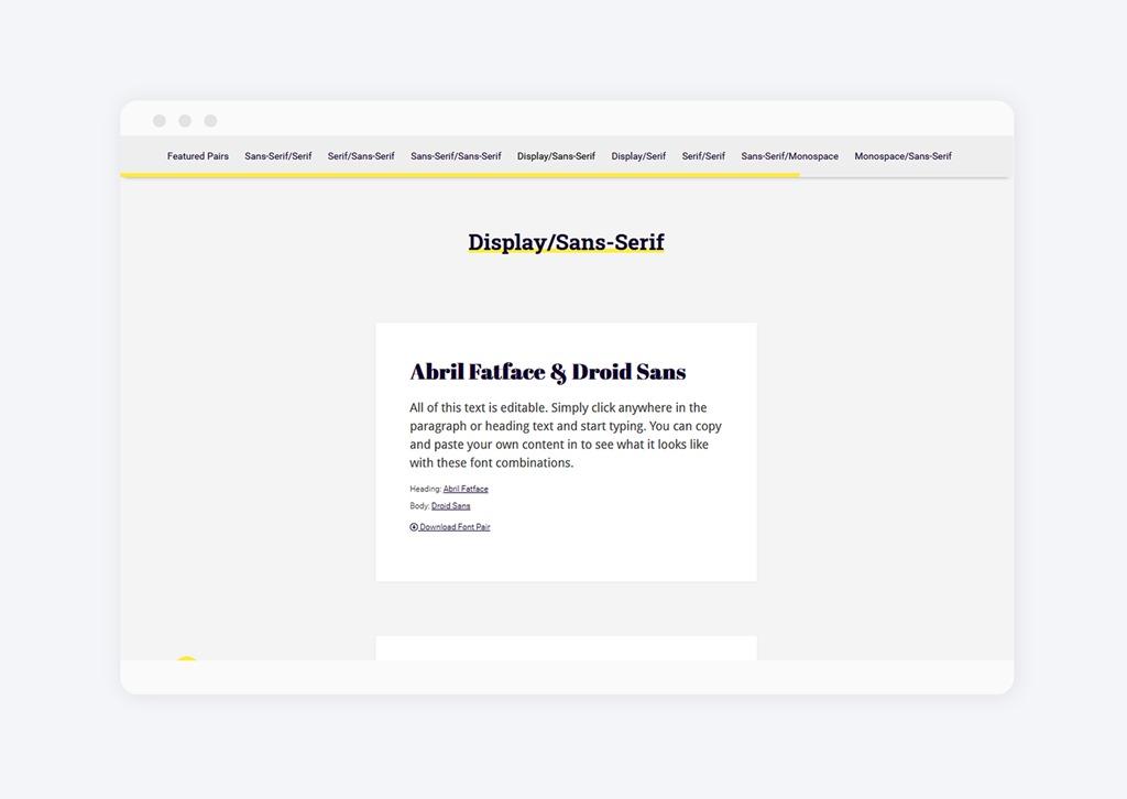 Jak wybrać fonty na bloga? Font Pair