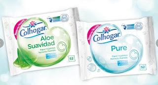 Prueba Colhogar Papel higiénico Húmedo