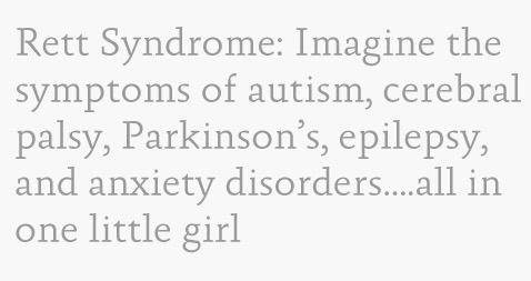 Rett syndrome is not deadly?