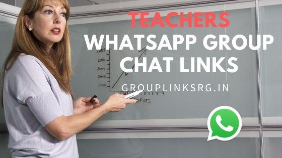 Whatsapp Group Links Teachers 2020 - Join Now