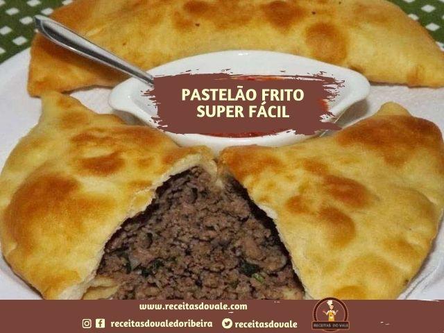 Receita de Pastelão Frito Super Fácil