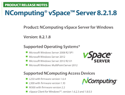 VSpace NComputing Server تنزيل