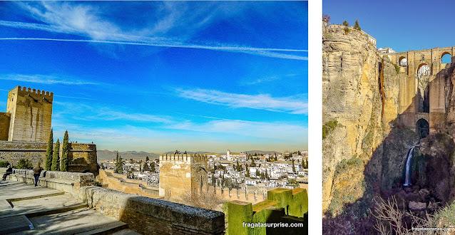 Andaluzia: Granada e Ronda