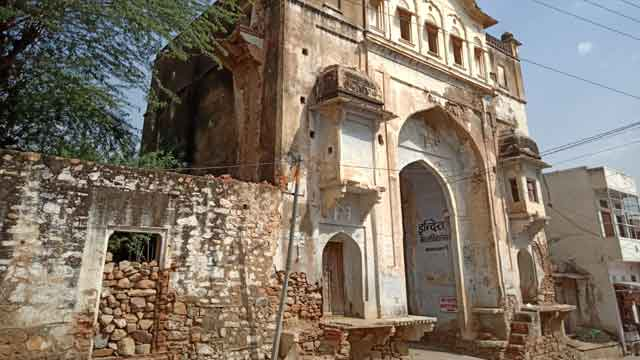 historical kala darwaja khandela sikar