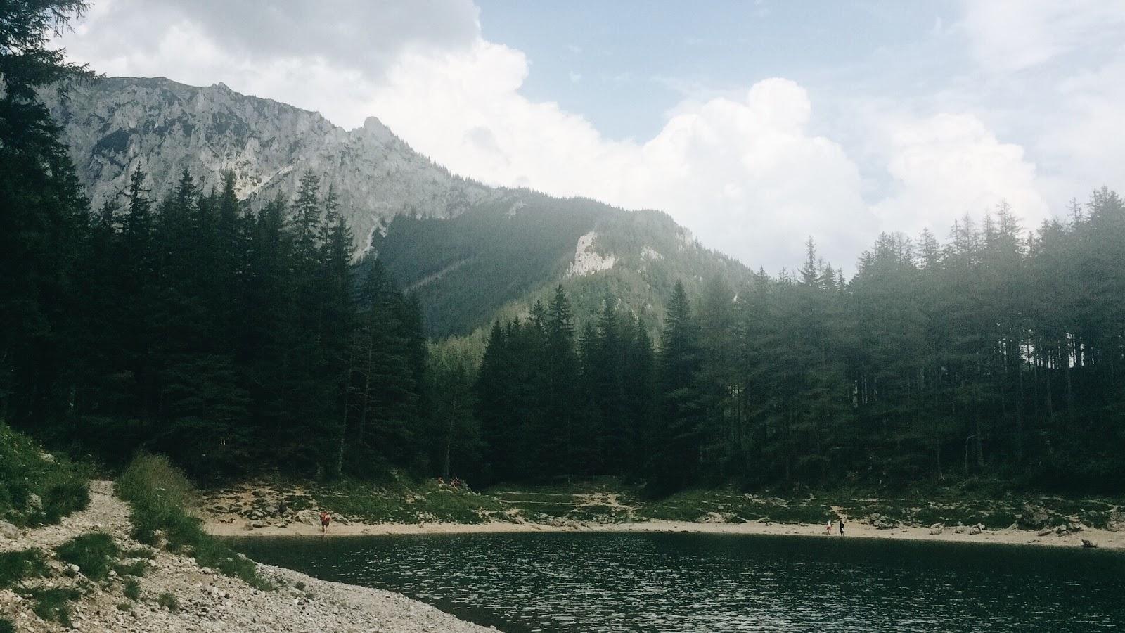 Grüner See - znikające austriackie jezioro