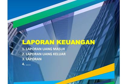 Download Cover Laporan Word  Siap Edit