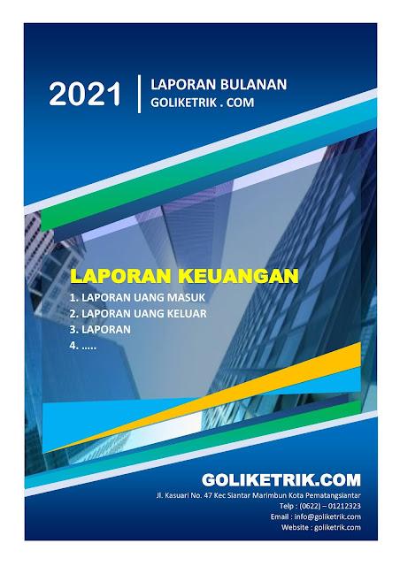 Contoh Cover Laporan