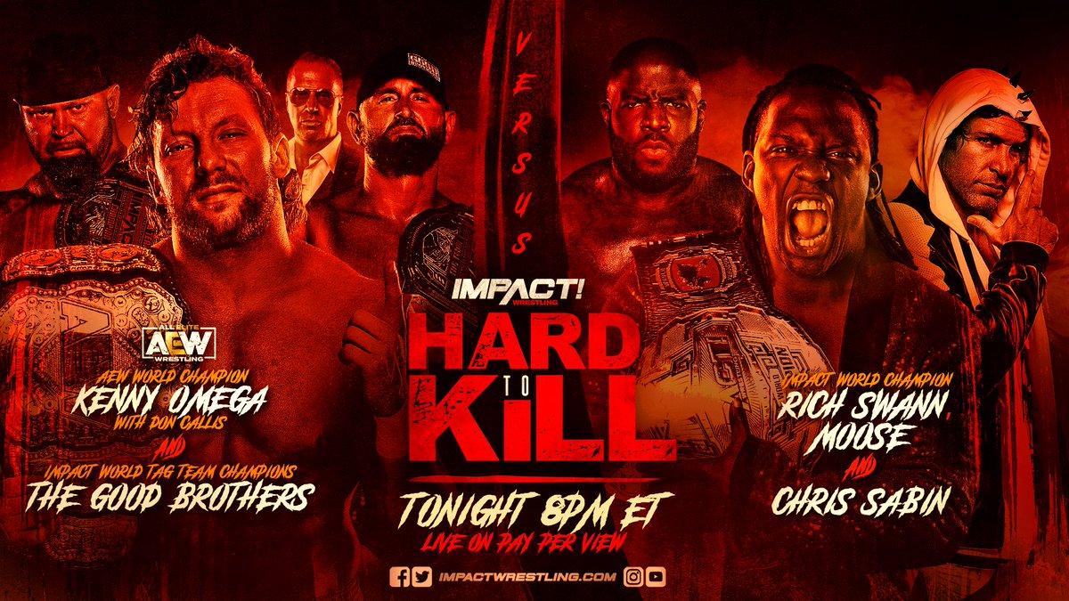 IMPACT Wrestling consegue o segundo maior número de PPV em 7 anos com o Hard to Kill 2021