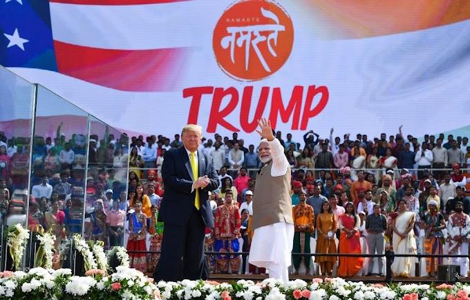 President Trump's India visit