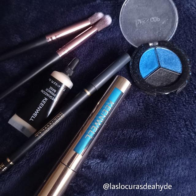 https://www.laslocurasdeahyde.com/2021/03/makeup-azul.html