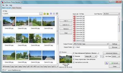 Download FastStone Photo Resizer