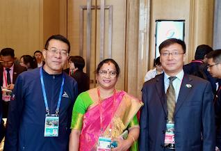 China-South Asia poverty reduction exhibition -Pondicherry India-China friendship association