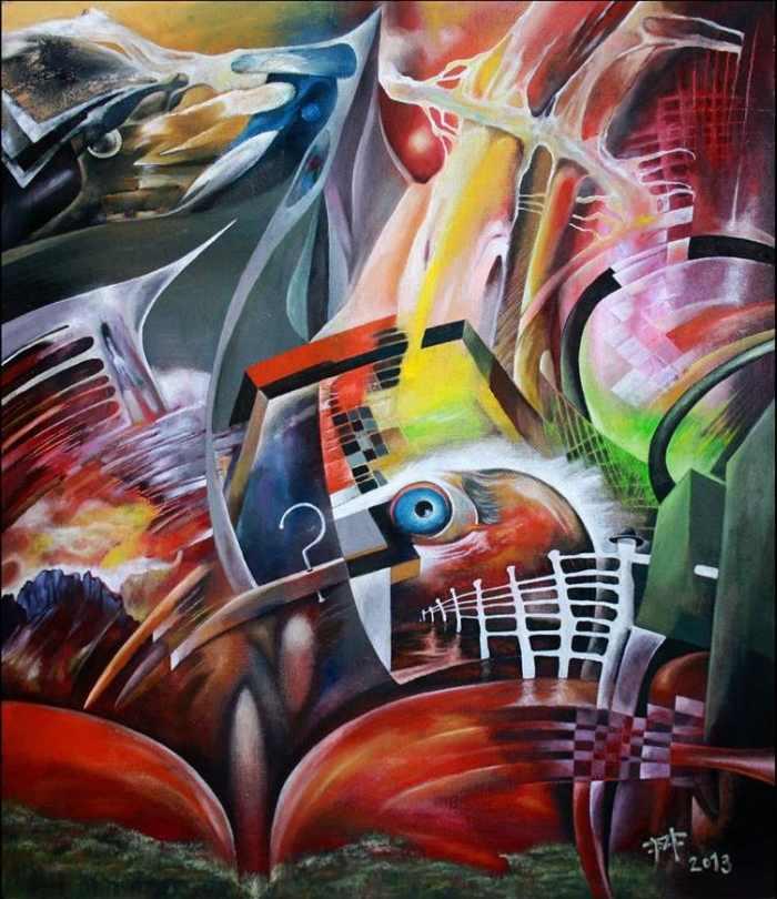 Словацкий художник. Miro Foltin