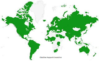 Chatsim support countries