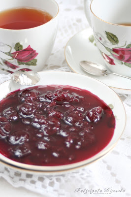 przetwory tradycyjne, sprawdzone receptury, wiśnie, konfitura, daylicooking, Małgorzata Kijowska, Maria Disslowa