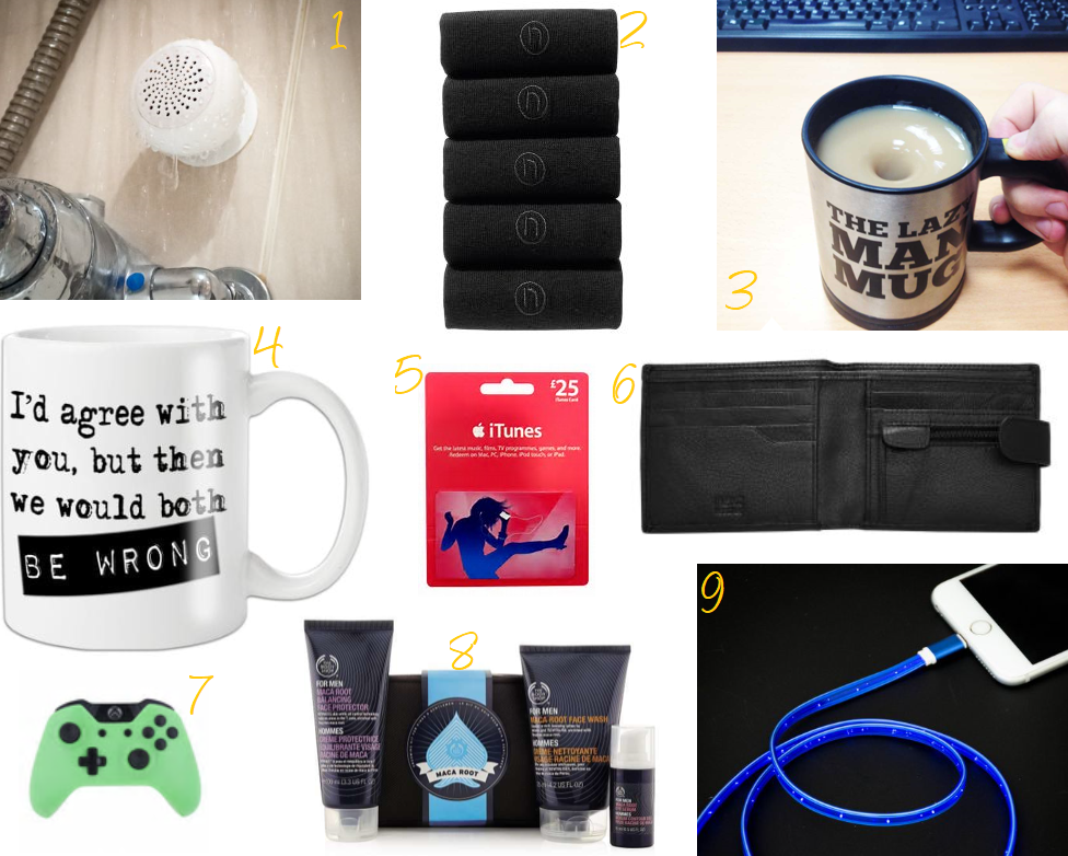 gift guide for men 2017