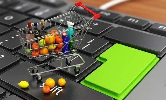 Αγορές on line σε Super Markets