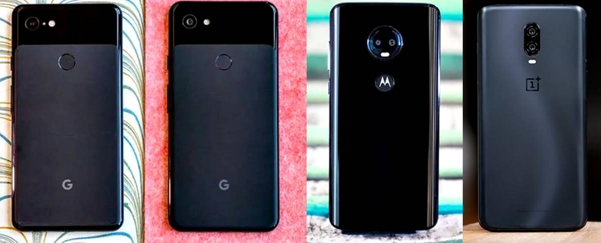 Comparativa entre el Pixel 3A vs. Pixel 3, Moto G7, OnePlus 6T