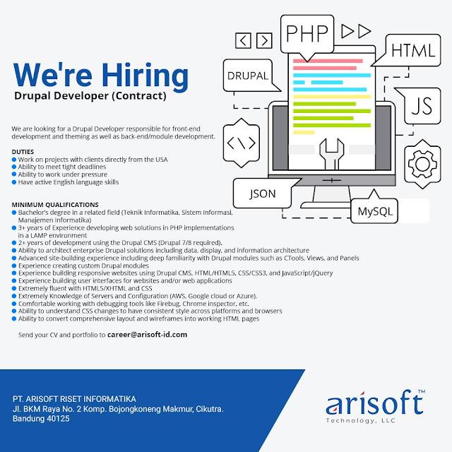 Lowongan Kerja Full-stack Drupal Developer