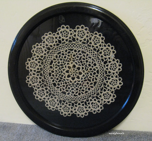 Framed Tatting