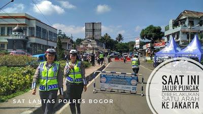 Jadwal buka tutup jalur puncak Bogor