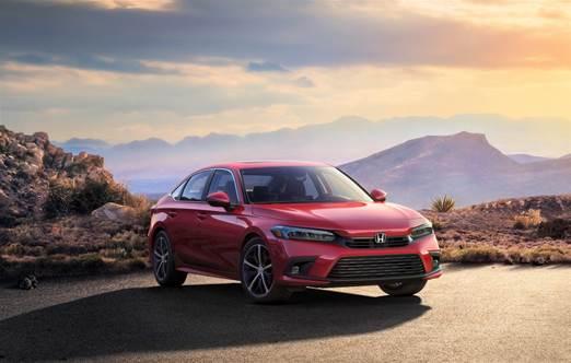 Así luce el nuevo Honda Civic Sedán 2022