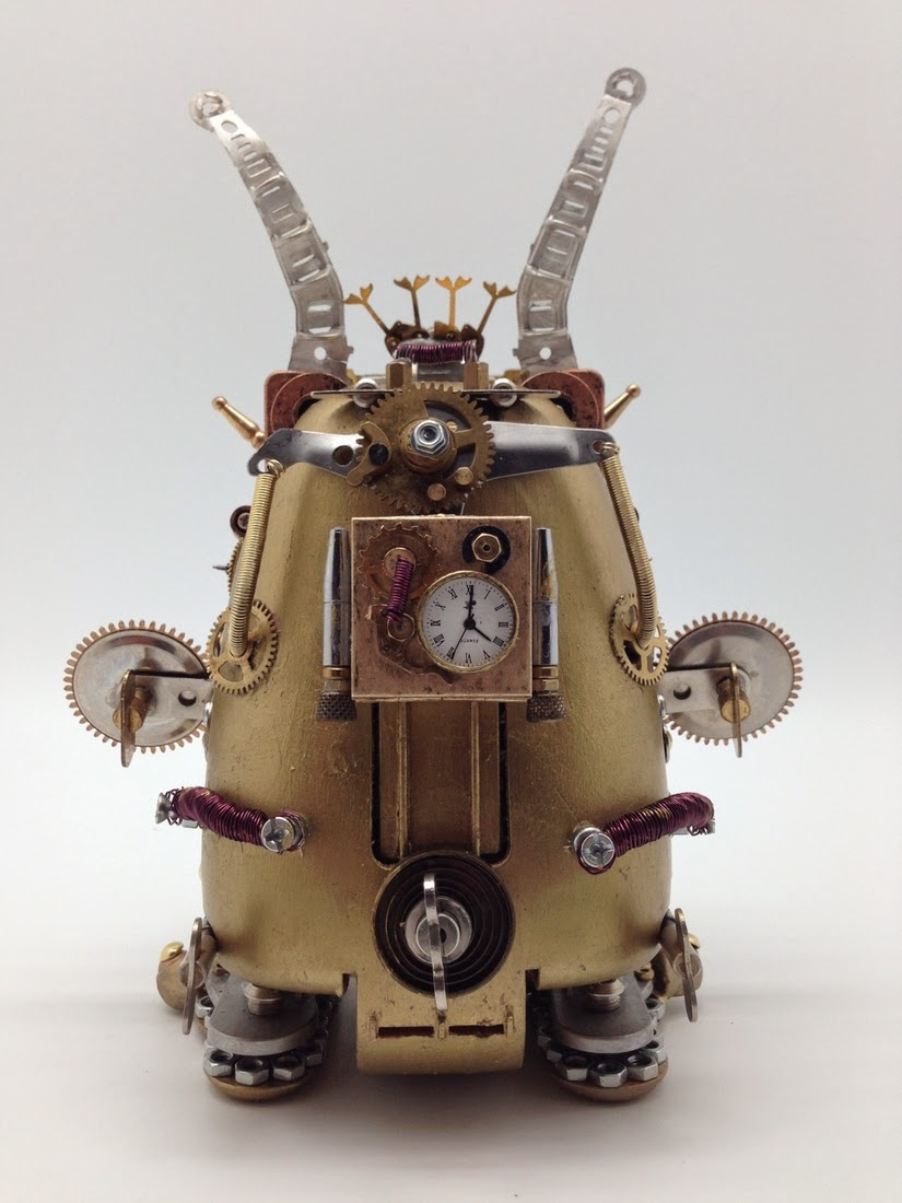 02-Furby-Van Halen Co-Steampunk Sculptures Wonderland-www-designstack-co