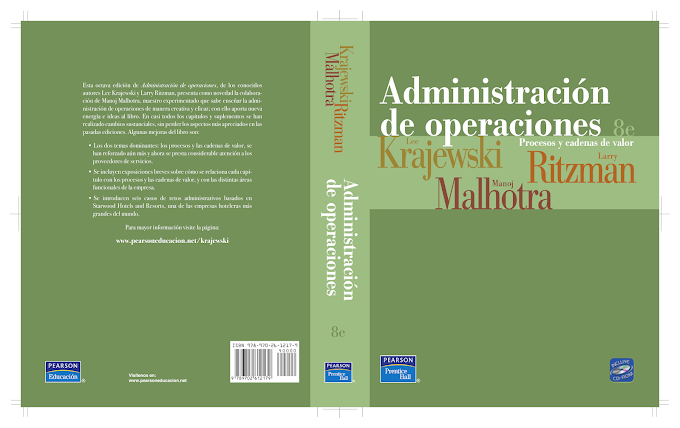 Administración De Operaciones - Lee J.K [Libro]