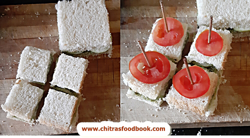 finger sandwich recipe