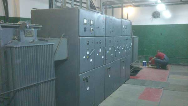 На фото работа компании  «Техстроитель» Экплуатация 3-х КТП 1000кВа и РП-10кВ