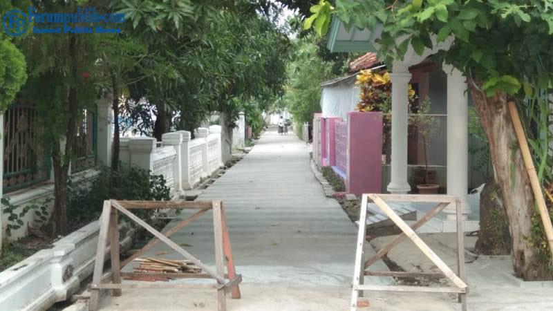 Pemdes Babadan Realisasikan DD Perbaikan Jalan Dengan Rabat Beton