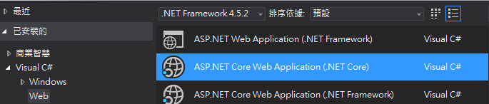 how to build asp net website