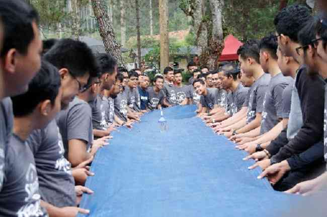 Outbound Training Indonesia Power Up Suralaya Gravity Adventure