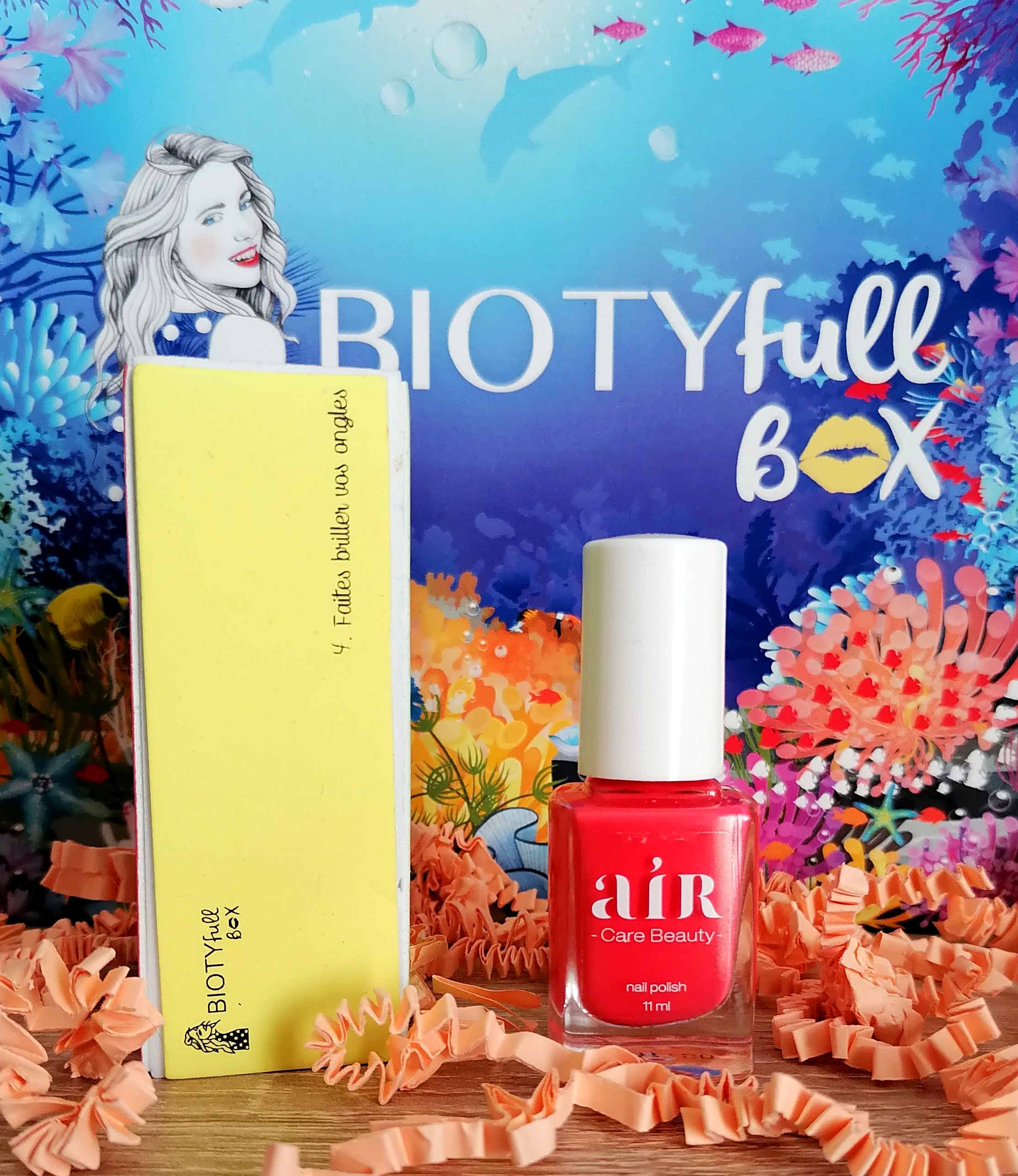 BIOTYFULL Box Juillet 2020 / La Marine