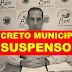 Justiça acata liminar do MP e suspende o decreto municipal que autorizava reabertura de estabelecimentos comerciais 'não essenciais'  em Buri.