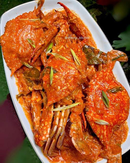 Resep Kepiting Rajungan Saus Padang Istimewa Ala Resto
