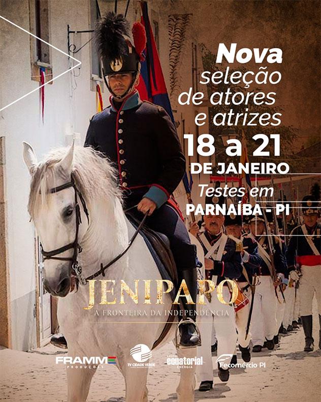 Produtora está fazendo uma nova seleção de atores e atrizes para a série Jenipapo em Parnaíba