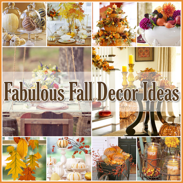 Fall Home Decorating Ideas: Vintage Fall Decorating Ideas